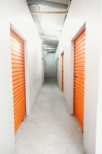 Fully enclosed storage units within the Corrimal, NSW Storage facility